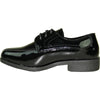 JEAN YVES Boy JY02KID Dress Shoe Formal Tuxedo for Prom & Wedding Black Patent