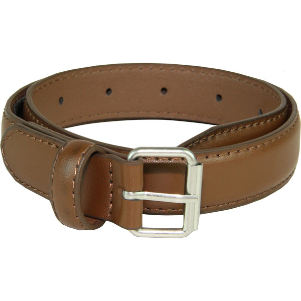Vangelo Kid Genuine Leather Classic Dress Belt Brown
