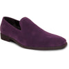 VANGELO Men Dress Shoe KING-5 Loafer Formal Tuxedo for Prom & Wedding Purple - Wide Width Available - Ortholite Insole