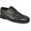 BRAVO Boy Dress Shoe MILANO-3KID Oxford Shoe Black