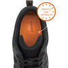 VANGELO Men Slip Resistant Shoe NICK-1 Black  - Wide Width Available