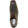 BRAVO Men Dress Shoe NEW KELLY-1 Oxford Shoe Brown Matte - Wide Width Available