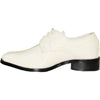 VANGELO Boy TUX-5KID Dress Shoe Formal Tuxedo for Prom & Wedding Ivory Patent