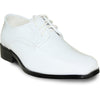 VANGELO Boy TUX-5KID Dress Shoe Formal Tuxedo for Prom & Wedding White Patent