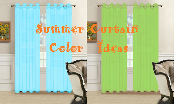 Update Your House Interior with these Great Summer Curtain Ideas