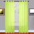 Lime Green Sheer Window Curtains
