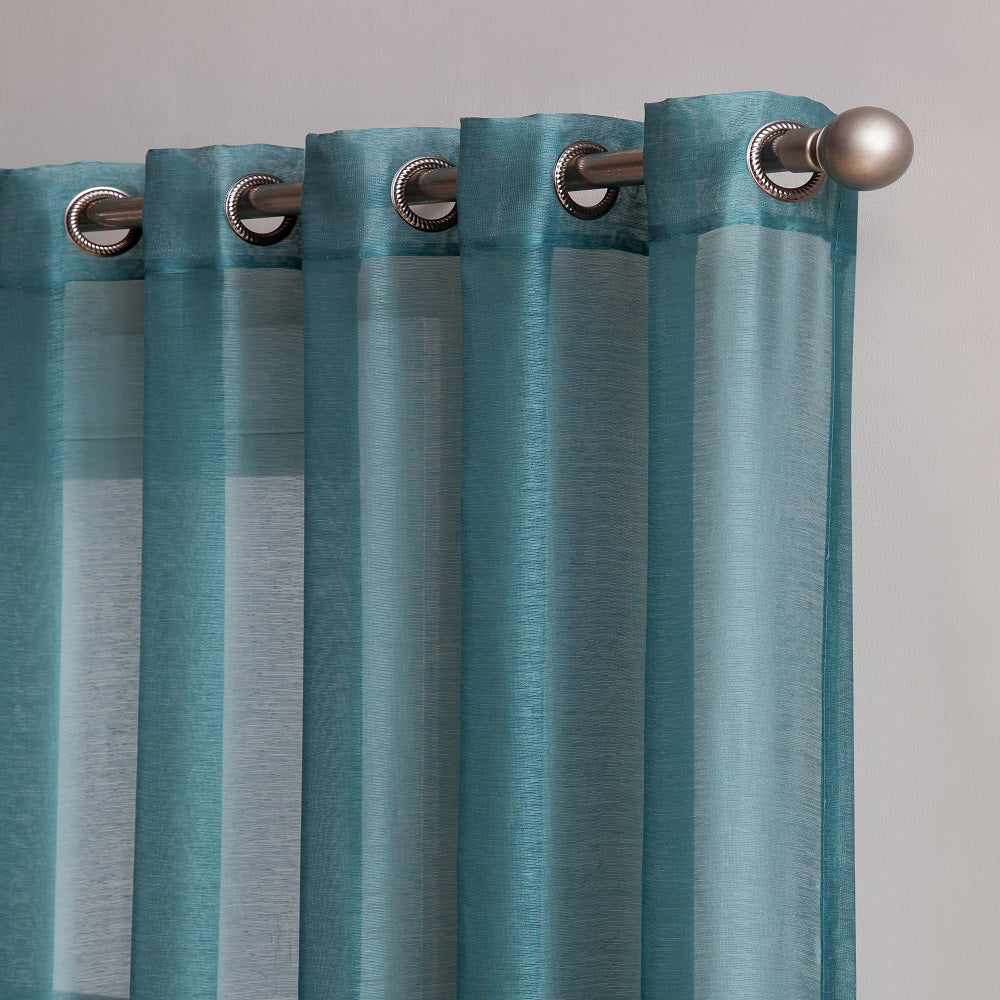 "Affordably Priced 102"" x 84"" or 102"" x 95"" Extra-Wide Dusty Blue Patio Door Curtains. Can Be Used as Sliding Door Drapes, Extra Large Curtains or Room Dividers."