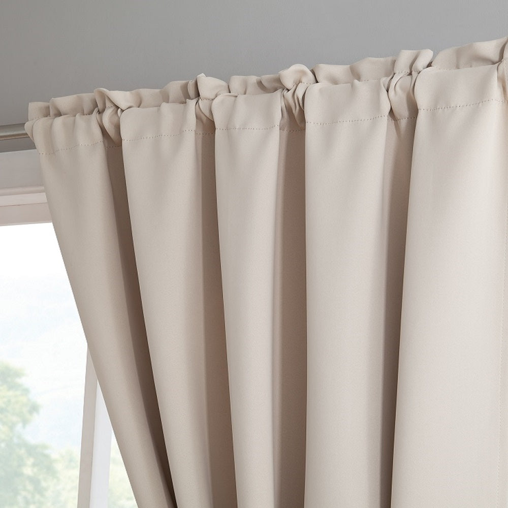white insulating luxura light of room amazon darkening curtain grommet privacy com dp set home lj in fashions reducing panels curtains kitchen