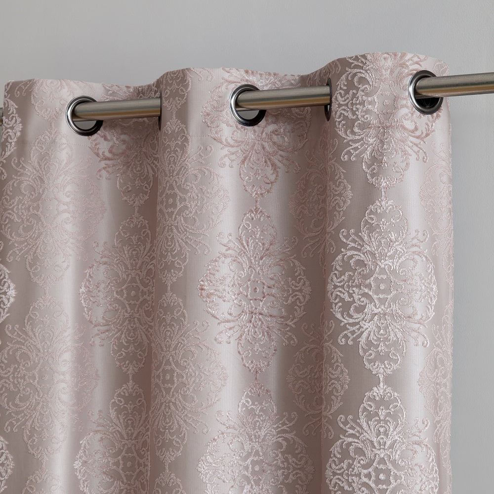 Warm Home Designs Textured 100% Blackout Linen (Taupe) Insulated Curtains in 4 Sizes