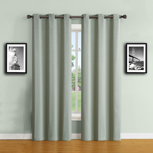 Warm Home Designs Moss Green 100% Blackout Curtains & Patio Panels