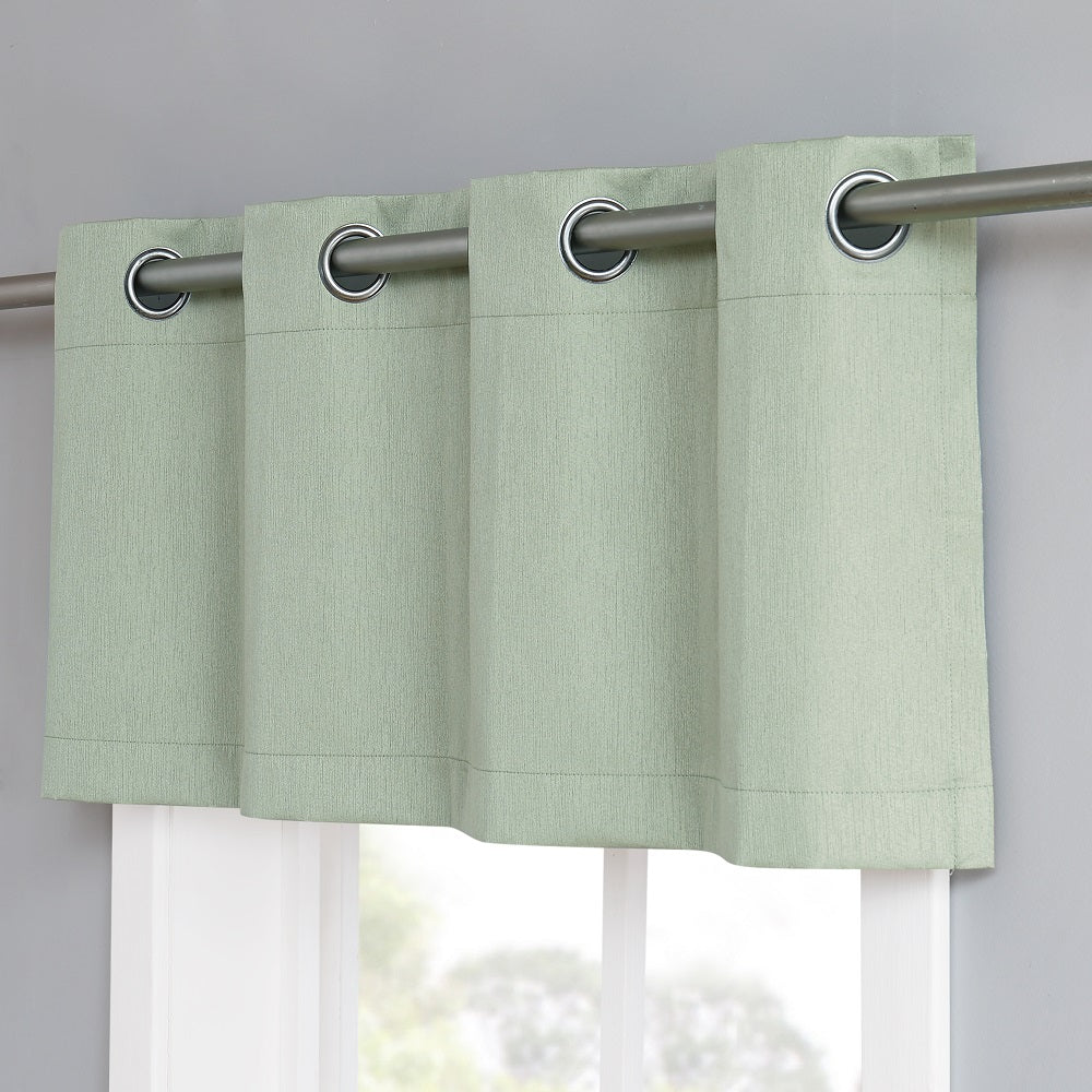 Warm Home Designs Moss Green Blackout Valance