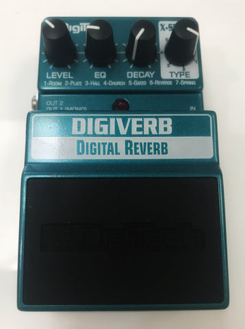 Digitech Digiverb Pedal - Used by Yngwie Malmsteen