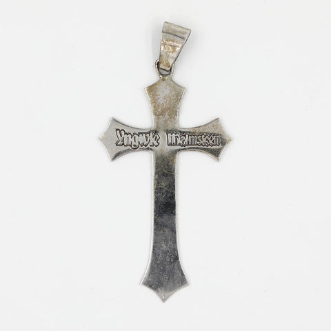 Yngwie Malmsteen Silver Replica Cross