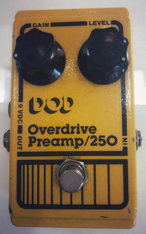 Vintage DOD Overdrive Preamp 250 - Used by Yngwie Malmsteen