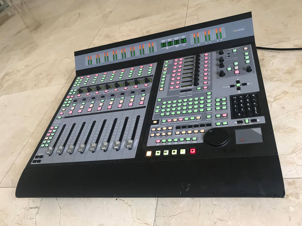 Digidesign ProControl Main Unit (Owned and Used by Yngwie Malmsteen)