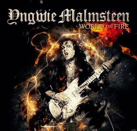 Signed World on Fire CD - IMPORT