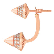 Aegis Double Arrow Earrings