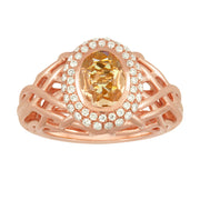 Eros Royal Basket Ring