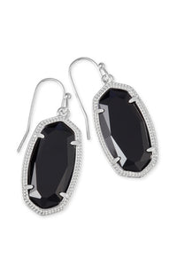 Kendra Scott: Dani Silver Drop Earrings