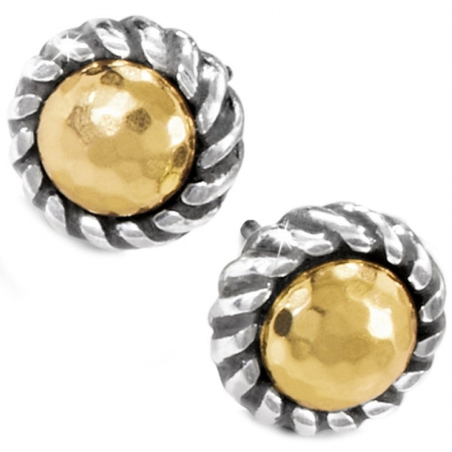 Brighton: Gold Magic Mini Post Earrings - J20911