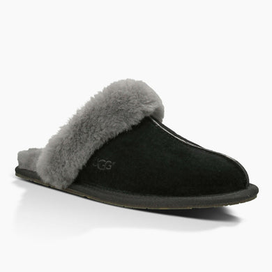 Ugg W Scuffette Black Grey - The Vogue Boutique
