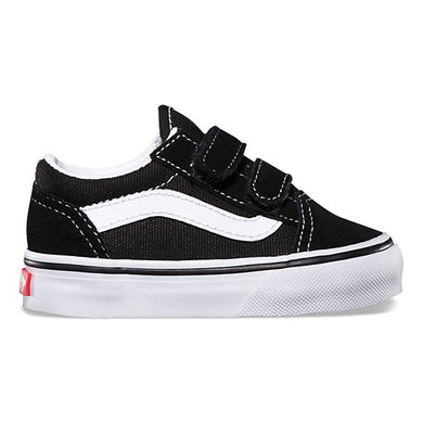 Vans: Children's Old Skool - Black - The Vogue Boutique