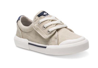 Sperry: Striper II Jr LTT - Cement - The Vogue Boutique