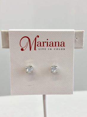 Mariana: Small Stud Earrings - E-1425-SP2 - The Vogue Boutique