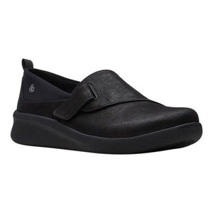 Clarks: Sillian 2.0 Ease - Black - The Vogue Boutique