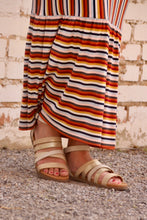 Load image into Gallery viewer, Very G: Virginia Sandals - Cream - The Vogue Boutique