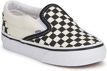 Load image into Gallery viewer, Vans Classic Slip on Black White Checker Toddler VN000EX8BWW - The Vogue Boutique