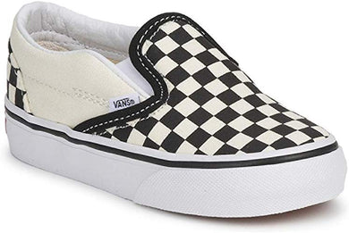 Vans Classic Slip on Black White Checker Toddler VN000EX8BWW - The Vogue Boutique