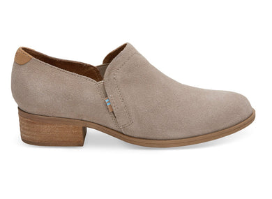 TOMS Shaye Desert Taupe Suede - The Vogue Boutique