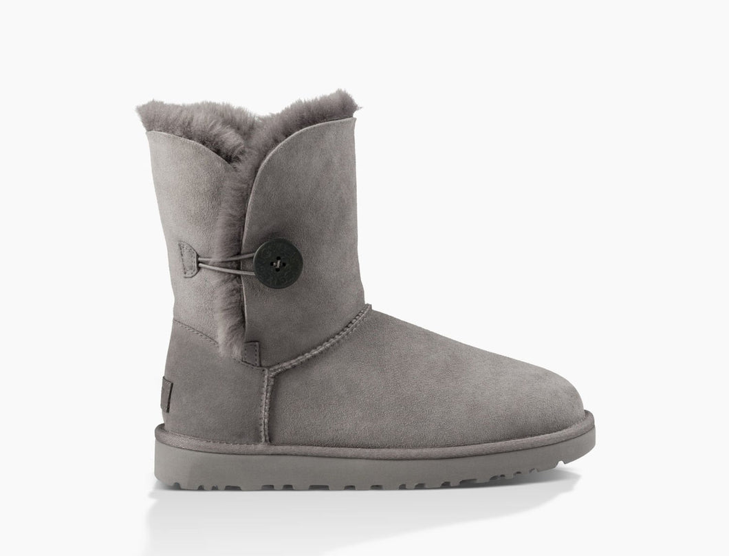 UGG Bailey Button II Grey - The Vogue Boutique