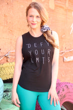 Load image into Gallery viewer, Glyder: Defy Your Limits Tank - Black - The Vogue Boutique