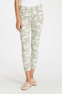 Dear John: Gisele Jeans - Watercress Camo - The Vogue Boutique