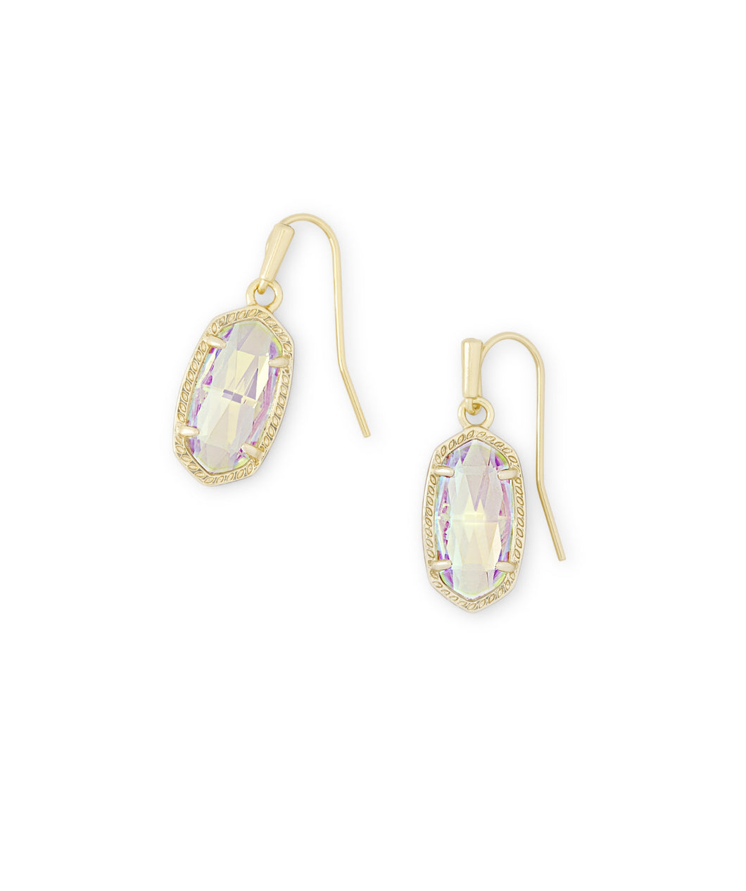 Kendra Scott: Gold Lee Drop Earrings