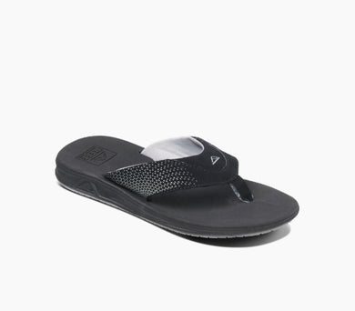 Reef: Little Rover - Black (Kids) - The Vogue Boutique