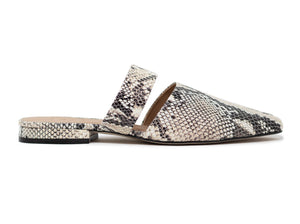 Able: Joselyene Flat - Snake Skin - The Vogue Boutique