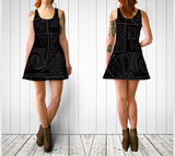 Charlee Urban Experiment Flare Dress NOIR