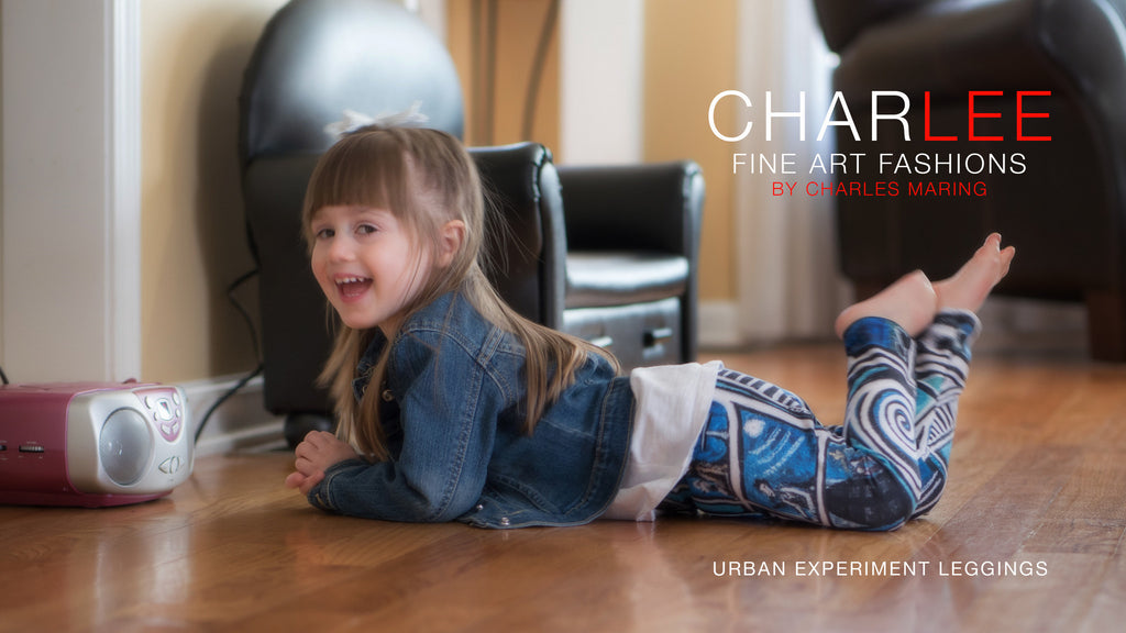Charlee Urban Experiment Baby Leggings