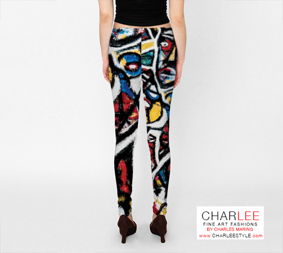 Charles The Messenger Leggings Back View