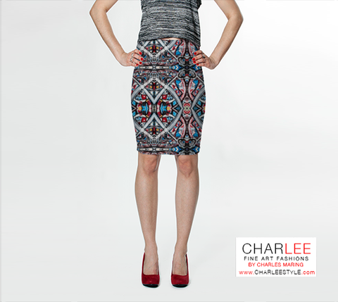 Charlee Urban Experiment Fitted Skirt