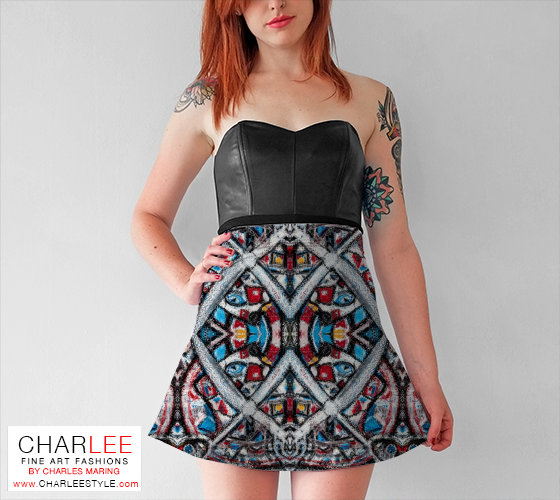 Charlee Shears Flare Skirt