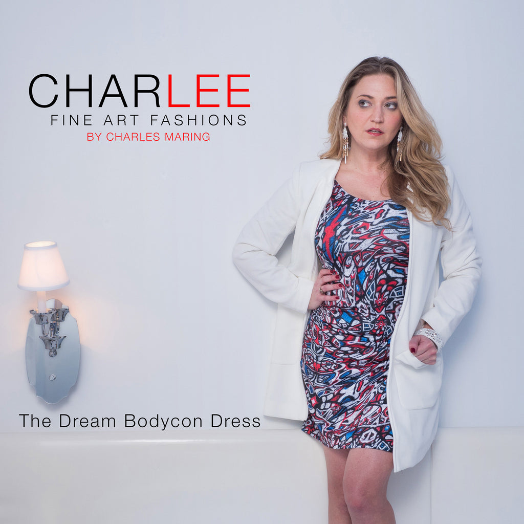 "Body con Dress ""The Dream"" by Charlee"