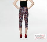 Charlee The Dream Capris Back View