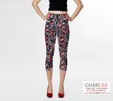 Charlee The Dream Capris Front View