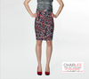 Charlee The Dream Fitted Skirt Front View