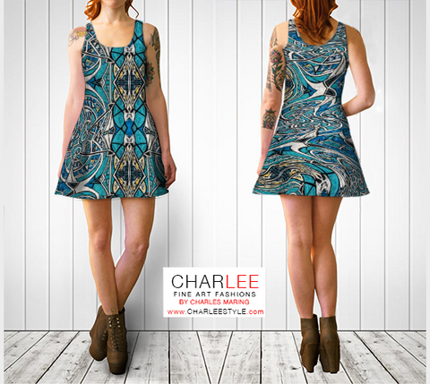 Charlee The Inside Out Flare Dress