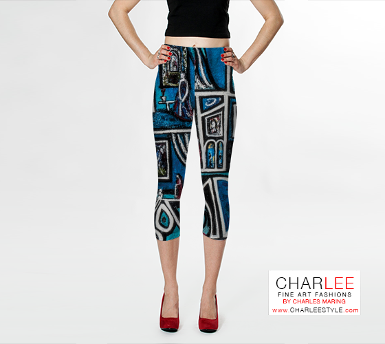 Charlee Urban Experiment Capris Front View